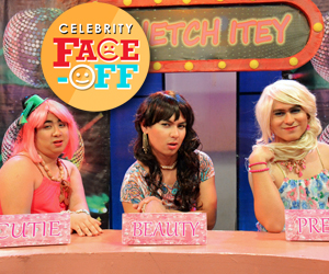 PHOTOS: Sinetch Itey bulilits on Kapamilya Face Off