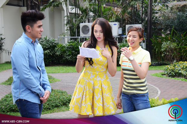 LOOK: Julia, CJ at Miles bilang Janine, Victor at Yvonne ng Two Wives