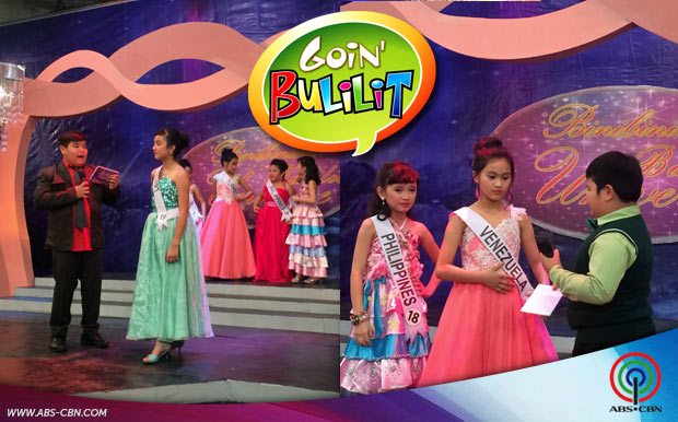 """Goin' Bulilit"" Kids, fabulous in Beauty Pageant Special - photo#12"