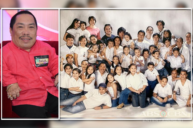 Dagul's hilariously gigantic stint as the lone adult in Goin' Bulilit